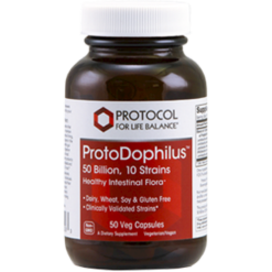 Protocol For Life Balance ProtoDophilus™ 50 Billion 50 vegetarian capsules P29283