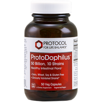 Protocol For Life Balance ProtoDophilus™ 50 Billion 50 vegetarian capsules P29283