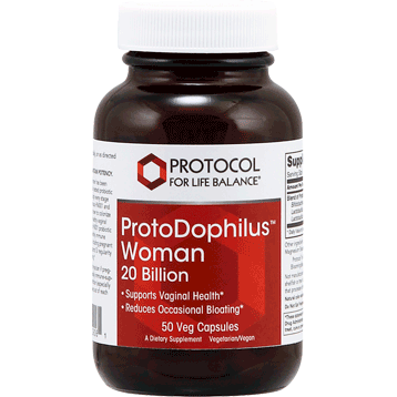Protocol For Life Balance ProtoDophilus Woman 20 bil 50 vegcaps P29061