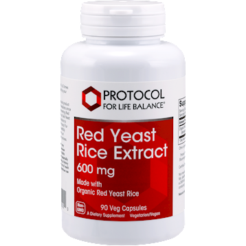 Protocol For Life Balance Red Yeast Rice Extract 90 vegcaps P3500