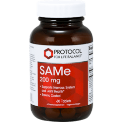 Protocol For Life Balance SAMe 200 mg 60 tablets SAM24
