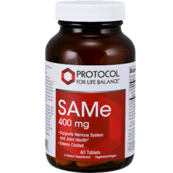 Protocol For Life Balance SAMe 400 mg 60 tablets P01418