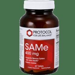 Protocol For Life Balance SAMe 400 mg 60 tablets P01418