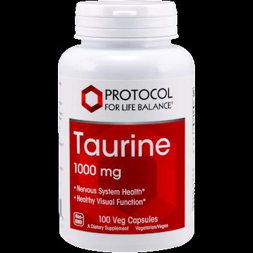 Protocol For Life Balance Taurine Extra Strength 1000 mg 100 caps TAU30