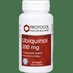 Protocol For Life Balance Ubiquinol 200 mg 60 gels P31446