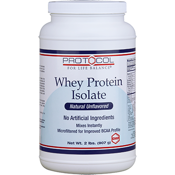 Protocol For Life Balance Whey Protein Isolate 2 lbs P2172