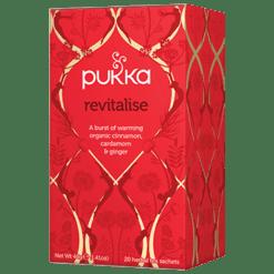 Pukka Herbs Inc. Revitalise Tea 20 sachets P00016