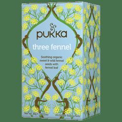 Pukka Herbs Inc. Three Fennel Tea 20 sachets P10049