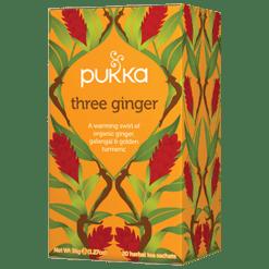 Pukka Herbs Inc. Three Ginger Tea 20 sachets P23145
