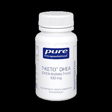 Pure Encapsulations 7 Keto DHEA 100 mg 60 vcaps 7KET6