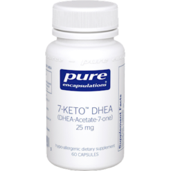 Pure Encapsulations 7 Keto DHEA 25 mg 60 vcaps 7KET3
