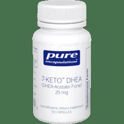 Pure Encapsulations 7 Keto DHEA 25 mg 60 vcaps 7KET3