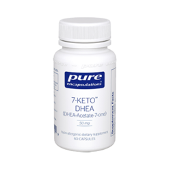 Pure Encapsulations 7 Keto DHEA 50 mg 60 vcaps 7KET1