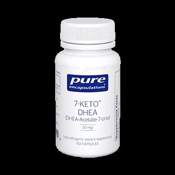 Pure Encapsulations 7 Keto DHEA 50 mg 60 vcaps 7KET1