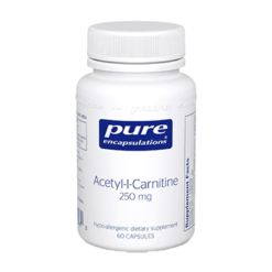 Pure Encapsulations Acetyl L Carnitine 250 mg 60 vcaps ACET5