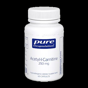 Pure Encapsulations Acetyl L Carnitine 250 mg 60 vcaps ACET5