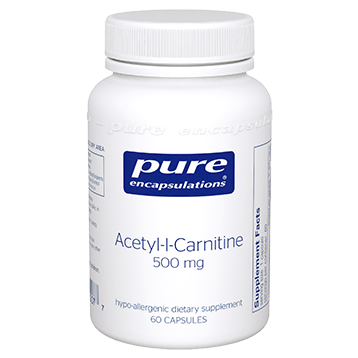 Pure Encapsulations Acetyl L Carnitine 500 mg 60 vcaps ACET6