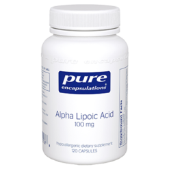 Pure Encapsulations Alpha Lipoic Acid 120 vcaps ALP11