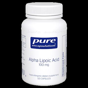 Pure Encapsulations Alpha Lipoic Acid 120 vcaps ALP11