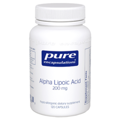 Pure Encapsulations Alpha Lipoic Acid 200 mg 120 vcaps ALP13