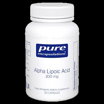 Pure Encapsulations Alpha Lipoic Acid 200 mg 120 vcaps ALP13