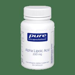 Pure Encapsulations Alpha Lipoic Acid 200 mg 60 vcaps ALP12