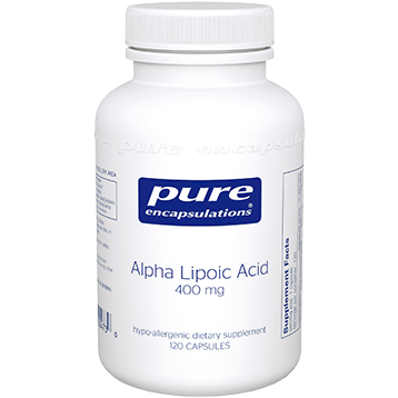 Pure Encapsulations Alpha Lipoic Acid 400 mg 120 vcaps ALP15