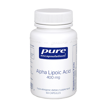 Pure Encapsulations Alpha Lipoic Acid 400 mg 60 vcaps ALP14