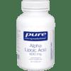 Pure Encapsulations Alpha Lipoic Acid 600 mg 120 vcaps ALP37
