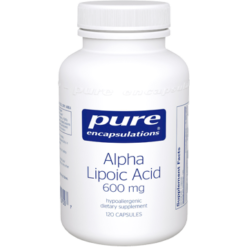 Pure Encapsulations Alpha Lipoic Acid 600 mg 120 vcaps ALP37