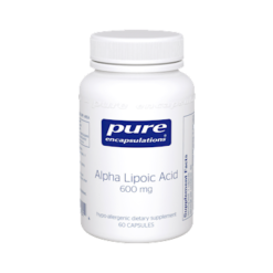 Pure Encapsulations Alpha Lipoic Acid 600 mg 60 vcaps ALP36