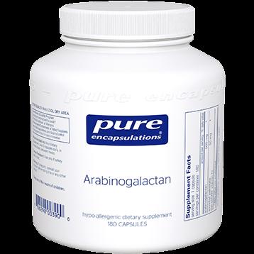 Pure Encapsulations Arabinogalactan 500 mg 180 vcaps ARAB1