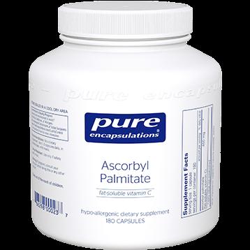 Pure Encapsulations Ascorbyl Palmitate 450 mg 180 vegcap ASC11