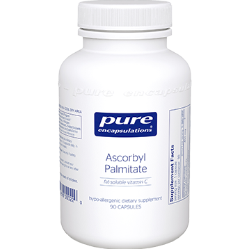 Pure Encapsulations Ascorbyl Palmitate 450 mg 90 vcaps ASC12