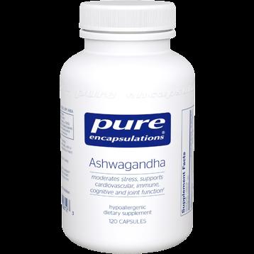 Pure Encapsulations Ashwagandha 120 Capsules ASH13