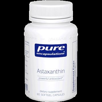 Pure Encapsulations Astaxanthin 60 gels ASTA2