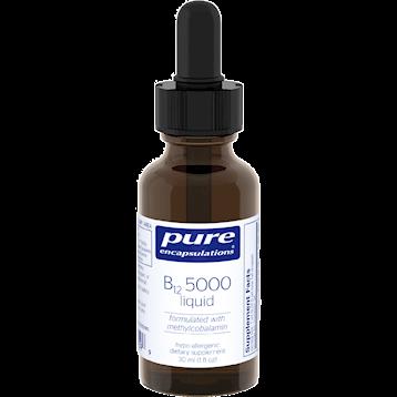 Pure Encapsulations B12 5000 Liquid 30 ml BL599