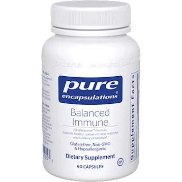 Pure Encapsulations Balanced Immune 60 caps P19253