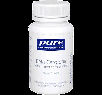 Pure Encapsulations Beta Carotene 25000 IU 180 gels BET13