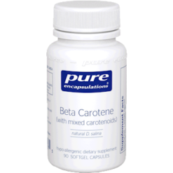 Pure Encapsulations Beta Carotene 25000 IU 90 gels BET14