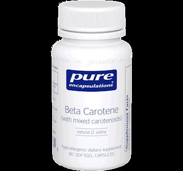 Pure Encapsulations Beta Carotene 25000 IU 90 gels BET14