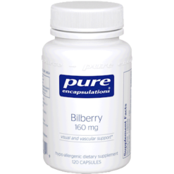 Pure Encapsulations Bilberry 160 mg 120 vegcaps BIL14