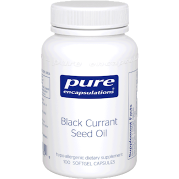 Pure Encapsulations Black Currant Seed Oil 500 mg 100 gels BLA45
