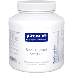 Pure Encapsulations Black Currant Seed Oil 500 mg 250 gels BLA46