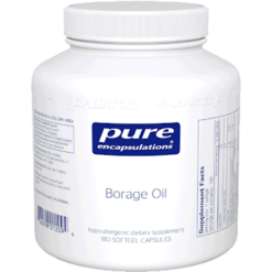 Pure Encapsulations Borage Oil 180 gels BOG1