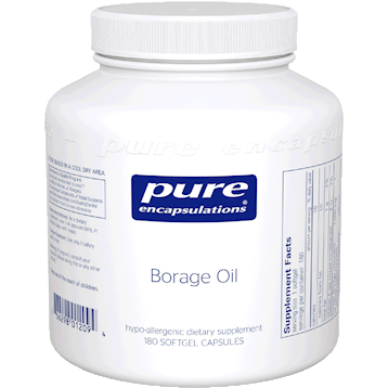 Pure Encapsulations Borage Oil 180 gels BOG1