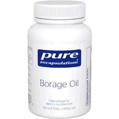 Pure Encapsulations Borage Oil 60 gels BOG6