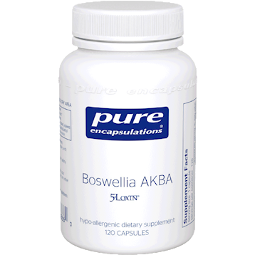 Pure Encapsulations Boswellia AKBA 120 caps BOS23
