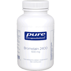 Pure Encapsulations Bromelain 2400 500 mg 180 vcaps BRO15