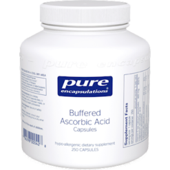 Pure Encapsulations Buff Ascorbic Acid 250 vcaps BUF13